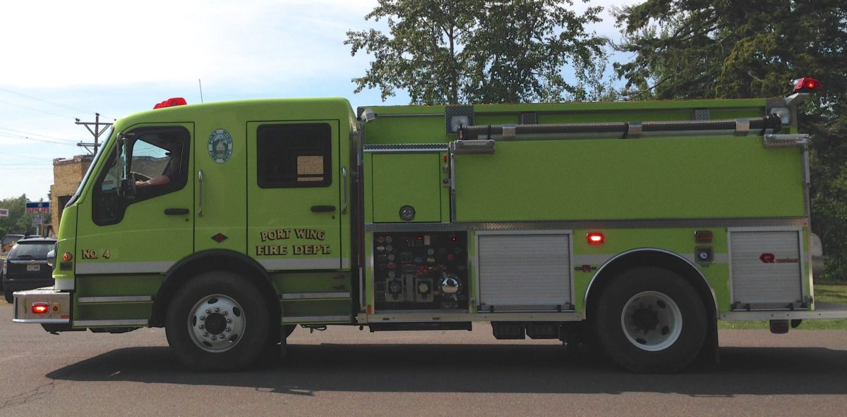 Port Wing Fire Truck