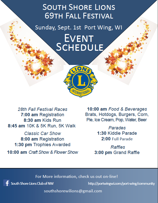 2019 Fall Festival Events