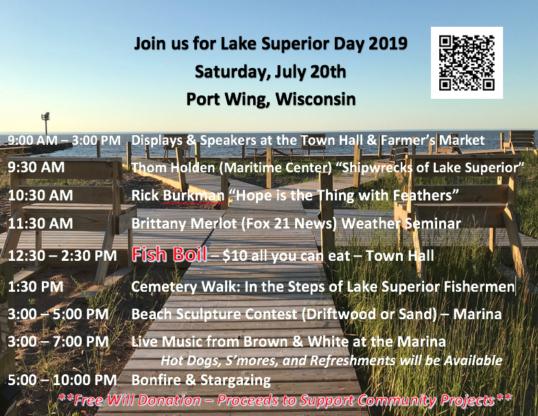 Lake Superior Day Poster
