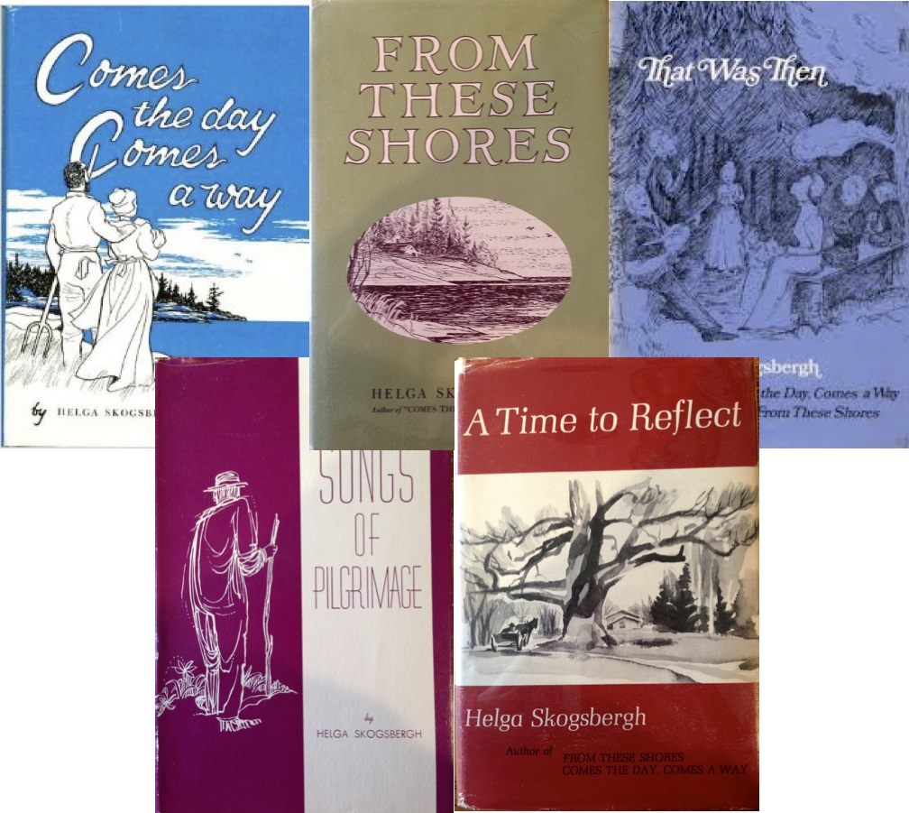 Skogsbergh Collage of Books