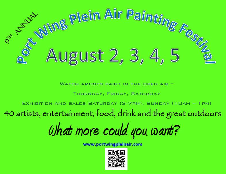 2018 Plein Air Poster