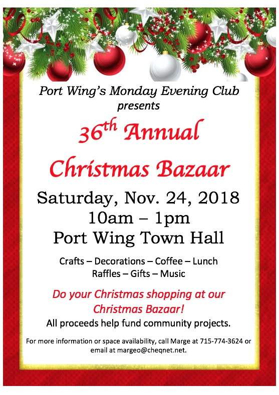 2018 Christmas Bazaar