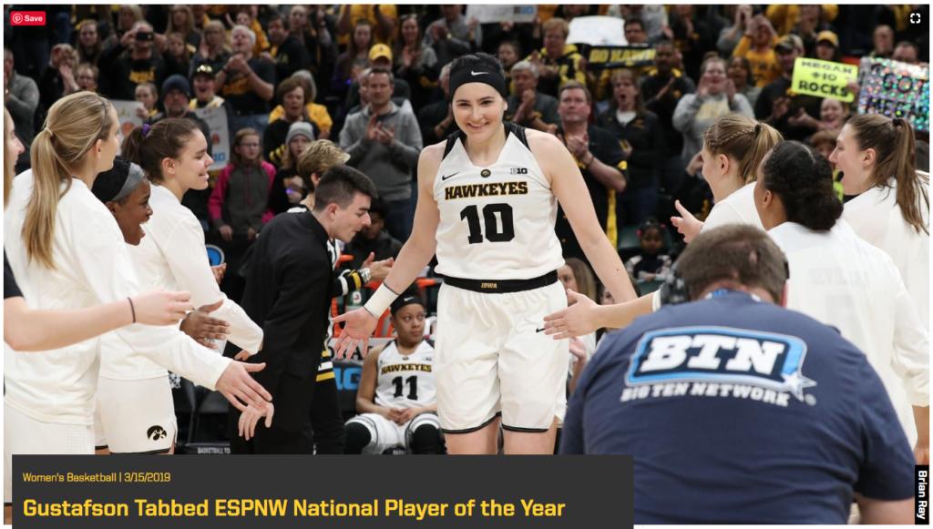 Megan - ESPNW Player of the Year