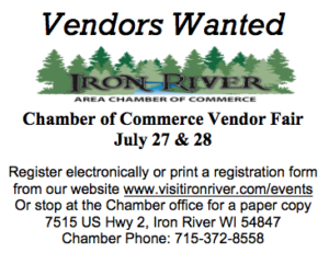 Iron River Chamber Vendor Fair