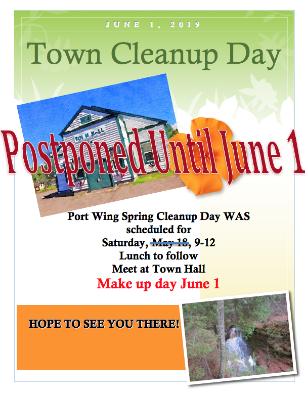 Town Clean-Up - June 1st
